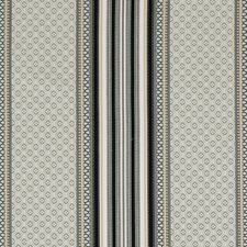 Smoke/Ebony Weave Drapery and Upholstery Fabric by Clarke & Clarke