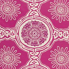 Cerise Weave Drapery and Upholstery Fabric by Clarke & Clarke