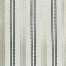 Charcoal/Sky Weave Drapery and Upholstery Fabric by Clarke & Clarke