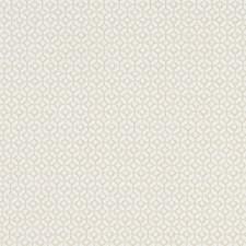Ivory Geometric Drapery and Upholstery Fabric by Clarke & Clarke
