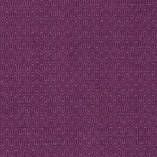 Raspberry Chenille Drapery and Upholstery Fabric by Clarke & Clarke