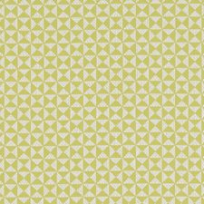 Citron Geometric Drapery and Upholstery Fabric by Clarke & Clarke