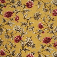 Soft Yellow/Pink Drapery and Upholstery Fabric by Mulberry Home