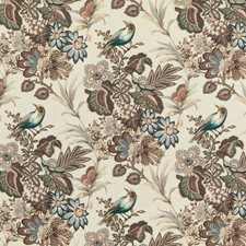Sage Animal Drapery and Upholstery Fabric by Mulberry Home