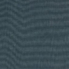 Petrol Blue Drapery and Upholstery Fabric by Mulberry Home