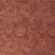 Aubergi Paisley Drapery and Upholstery Fabric by Mulberry Home