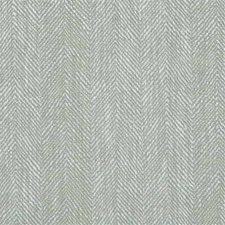 Aqua Herringbone Drapery and Upholstery Fabric by Mulberry Home