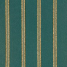 Teal Stripes Drapery and Upholstery Fabric by Mulberry Home