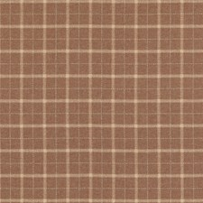 Russet Plaid Drapery and Upholstery Fabric by Mulberry Home
