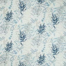 Artic Botanical Drapery and Upholstery Fabric by Kravet