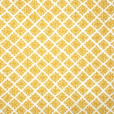Marigold Print Drapery and Upholstery Fabric by Pindler