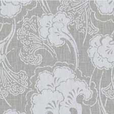 Linen Asian Drapery and Upholstery Fabric by Kravet