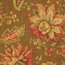 Pecan Drapery and Upholstery Fabric by RM Coco