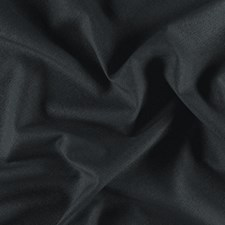 Black Plain Drapery and Upholstery Fabric by JF
