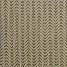 Beige/Aqua Modern Drapery and Upholstery Fabric by Groundworks