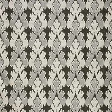 Graphite Print Drapery and Upholstery Fabric by Groundworks