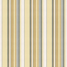 Cream/Grey Stripes Drapery and Upholstery Fabric by Groundworks