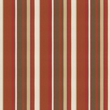 Spice/Brown Stripes Drapery and Upholstery Fabric by Groundworks