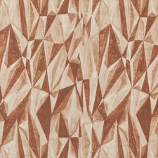 Terracotta Modern Drapery and Upholstery Fabric by Groundworks