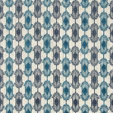 Deep Sea Modern Drapery and Upholstery Fabric by Groundworks