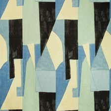 Cobalt Modern Drapery and Upholstery Fabric by Groundworks