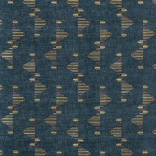 Marlin Geometric Drapery and Upholstery Fabric by Groundworks