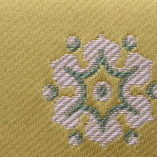 Jaune Drapery and Upholstery Fabric by Scalamandre