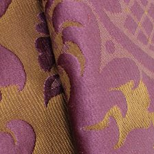 Pourpre Drapery and Upholstery Fabric by Scalamandre