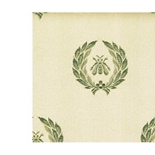Celadon/Beige Drapery and Upholstery Fabric by Scalamandre