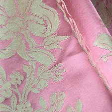 Rose Drapery and Upholstery Fabric by Scalamandre