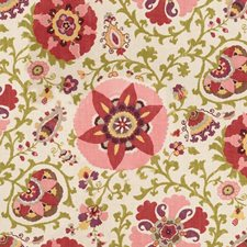 Pink/Beige Print Drapery and Upholstery Fabric by Kravet