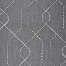 True Grey Drapery and Upholstery Fabric by RM Coco