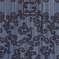 Indigo Drapery and Upholstery Fabric by Silver State