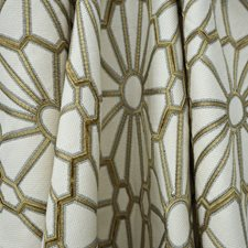 Creme/Beige/Yellow Transitional Drapery and Upholstery Fabric by JF