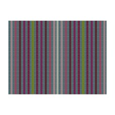 Charcoal Berry Stripes Drapery and Upholstery Fabric by Brunschwig & Fils