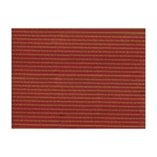 Tomato Stripes Drapery and Upholstery Fabric by Brunschwig & Fils