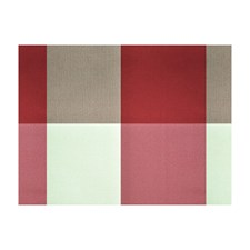 Pekin Red Plaid Drapery and Upholstery Fabric by Brunschwig & Fils