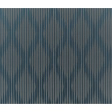 Dusty Blue Stripes Drapery and Upholstery Fabric by Brunschwig & Fils