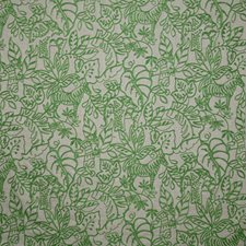 Palm Crewel Drapery and Upholstery Fabric by Pindler
