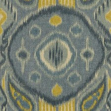 Ocean Ikat Drapery and Upholstery Fabric by Kravet