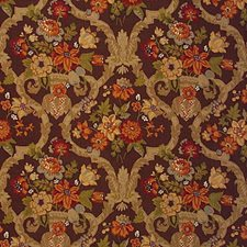 Kirby Print-Chestnu Lattice Drapery and Upholstery Fabric by Lee Jofa