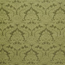 Celedon Damask Drapery and Upholstery Fabric by Laura Ashley