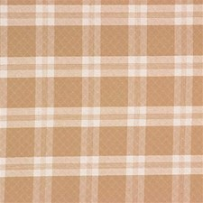 Nutmeg Plaid Drapery and Upholstery Fabric by Laura Ashley