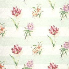 Glacier Print Drapery and Upholstery Fabric by Laura Ashley