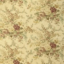 Amber Print Drapery and Upholstery Fabric by Laura Ashley