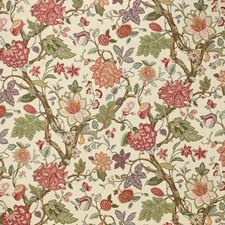 Bayberry Jacobeans Drapery and Upholstery Fabric by Laura Ashley