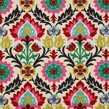 Multi Traditional Drapery and Upholstery Fabric by Pindler