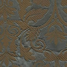Aqua Brown Drapery and Upholstery Fabric by RM Coco