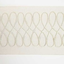 Tape Braid Creme Trim by Pindler