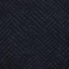 Black Herringbone Drapery and Upholstery Fabric by Kravet